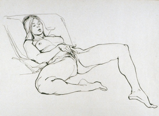 Vagina Painting Erotic Art Nude Woman Yoni Artwork